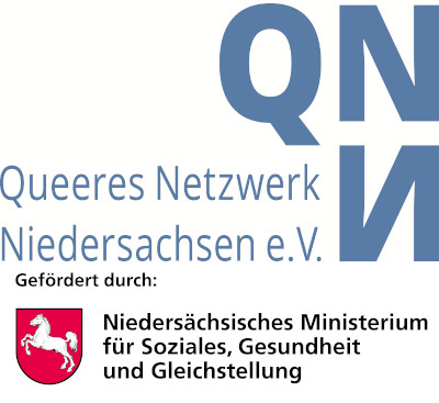 """""""Gefördert aus Mitteln des Niedersächsischen Ministeriums für Soziales, Gesundheit und Gleichstellung"""""""